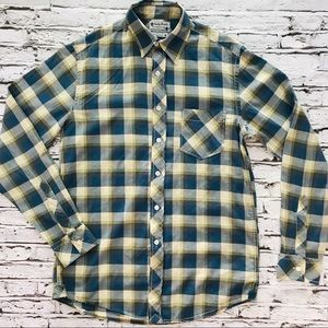 Lucky Brand Button-Up